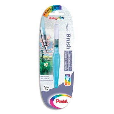 Pinceau Pentel - fibre synthétique - pointe fine - avec réservoir (photo)