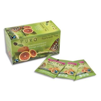 Thé Puro - orange sanguine - boîte de 25