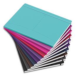 Carnet brochure Oxford Signature - B5 - 160 pages - 6 mm - couverture souple coloris assortis