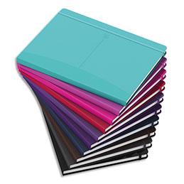 Carnet brochure Oxford Signature - B5 - 160 pages - 6mm - couverture rigide coloris assortis