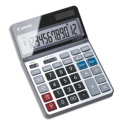 Calculatrice écologique Canon TS-1200TSC - 12 chiffres - écran inclinable