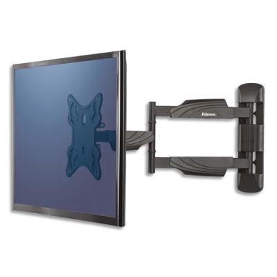 Bras porte écran mural TV Fellowes - simple - 55'' max (photo)