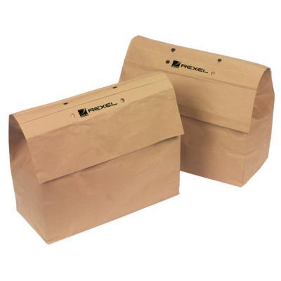 Sacs papier recyclé pour destructeur 300X/300M - 40 litres - paquet 20 unités