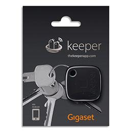 Porte-clés connecté Gigaset Keeper - noir (photo)