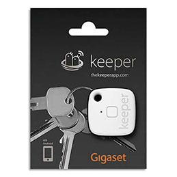 Porte-clés connecté Gigaset Keeper - blanc (photo)