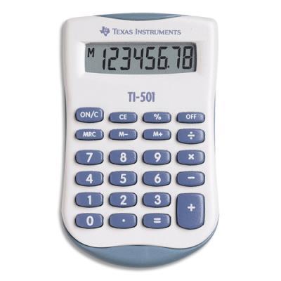 Calculatrice de poche Texas TI-501 - 8 chiffres