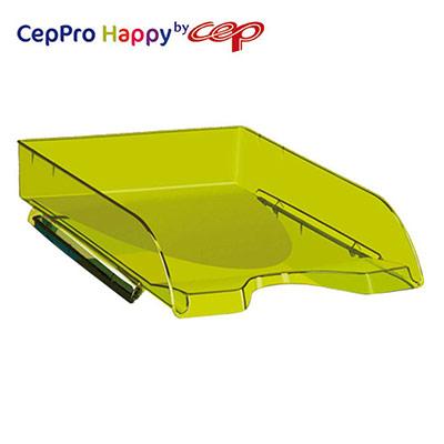 Corbeille à courrier Cep Pro Happy - Vert bambou