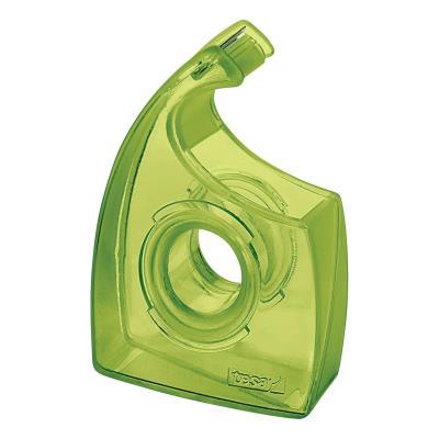 Dévidoir pour adhésif type escargot Tesa Easy Cut vert transparent - 100% recyclé