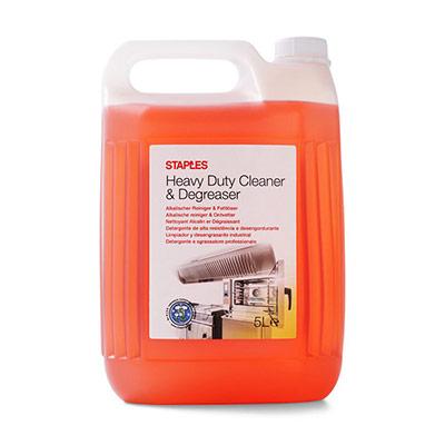 Nettoyant et dégraissant intensif alcalin multi-usage - concentré rouge-brun - 5 l - bouteille 5 litres (photo)