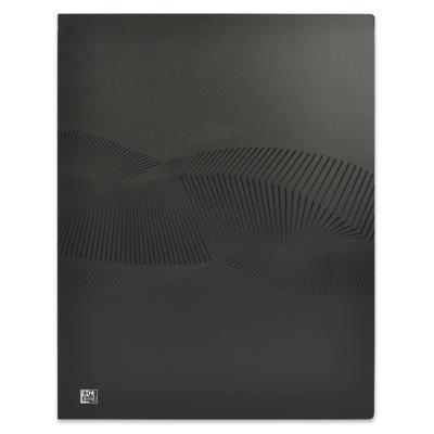 Protège-documents Oxford Osmose A3 - 20 pochettes en polypropylène - couverture opaque noire