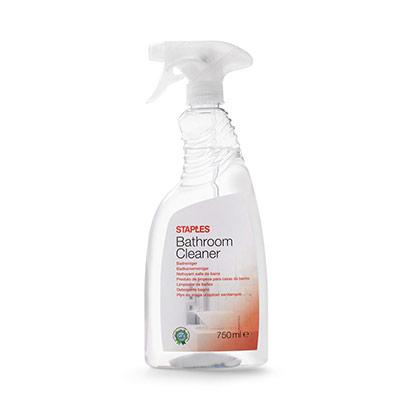 Spray nettoyant pour salle de bain - senteur pin - prêt à l'emploi - transparent - 750 ml (photo)