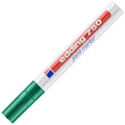 Marqueur peinture Edding E750 - laque vert - pointe moyenne ogive