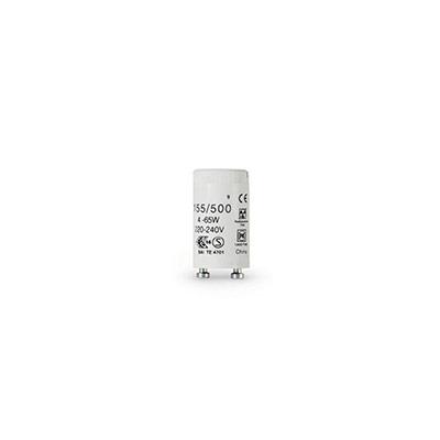 Starter universel pour tube fluo T8 - culot G13 - 4 à 65 Watts - carton de 25
