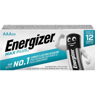 Piles Energizer Max Plus - AAA - blister de 20 piles