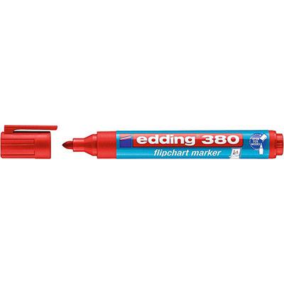 Marqueur pour tableaux de conférence 380 à pointe ogive 1,5 - 3 mm rouge