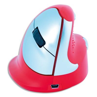 Souris ergonomique R-Go Tools Sport - droitier - rouge