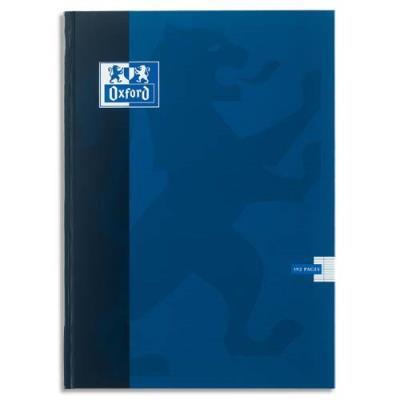 Cahier Oxford Classique - 24 x 32 cm - reliure brochée - grands carreaux 192 pages - 90 g
