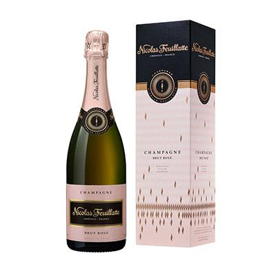 Champagne Brut Rosé - bouteille de 75 cl - bouteille 750 millilitres (photo)