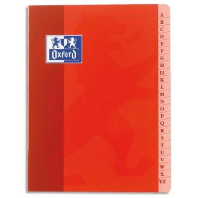Répertoire Conquérant - reliure piqûre - format A4 21x29,7 cm - 96 pages - petits carreaux - papier 90 g