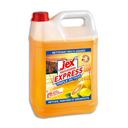 Nettoyant multi-usages desinfectant Jex - parfum soleil de corse - bidon de 5L (photo)