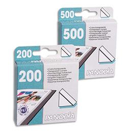 Boîte de 200 coins photo adhésifs Panodia - 10 x 10 mm - en boite distributrice (photo)