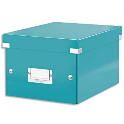 boite de rangement click store m box format a4 dimensions l281xh200xp369mm menthe. Black Bedroom Furniture Sets. Home Design Ideas