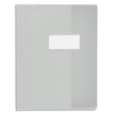 Protège-cahier Elba Strong Line - 17 x 22 cm - cristal 15/100° + renforcés (30/100°) - incolore (photo)
