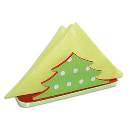 Lot de 6 porte-serviettes en bois sapin à décorer, 16 x 5 x 6 cm (photo)