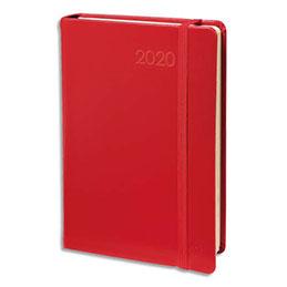 Agenda 2020 semainier ministre Habana Quo Vadis - Décembre à décembre - 16 x 24 cm - avec répertoire - rouge (photo)