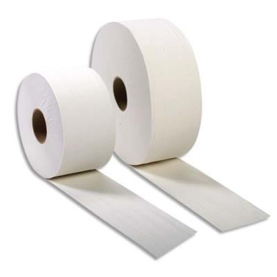 Colis de 12 bobines économiques de papier toilette mini Jumbo - 2 plis - longueur 170 m (photo)