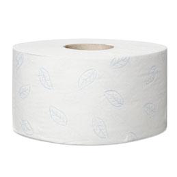 Colis de 12 bobines de papier toilette Tork Premium mini Jumbo - 2 plis - longueur de 170 m (photo)