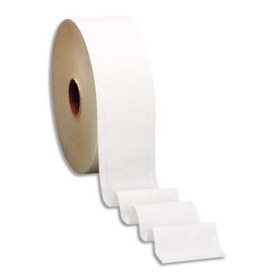 Papier toilette mini Jumbo Tork Advanced - 2 plis - diametre 19,5 cm - longueur 180 m - colis de 12