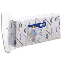 Essuie mains Kleenex Ultra Douceur Extreme - pliage en Z - 21 x 31,5 cm - colis de 5 paquets de 124 feuilles (photo)