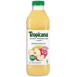Jus de pomme Tropicana - bouteille de 1 L (photo)
