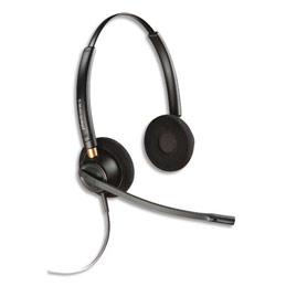 Micro-casque filaire Plantronics Encore Pro HW520 - 2 écouteurs (photo)