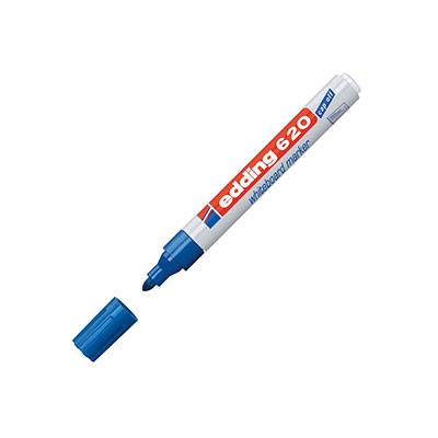 Marqueur 620 pour tableau blanc - pointe ogive - 1,5 - 3 mm - bleu (photo)