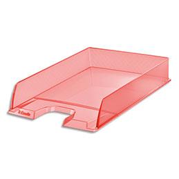Corbeille à courrier Esselte Colour'Ice - L25,4 x H6,1 x P35cm - pêche