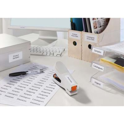 Boîte de 2400 étiquettes blanches multi usages Avery 3485 - 50 x 50 mm - pour laser jet d'encre et copieur (photo)