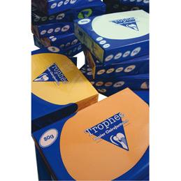 Papier Trophée - 160 g - A3 - bleu alizé - ramette de 250 feuilles