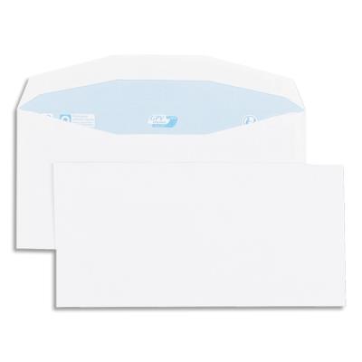 Enveloppes GPV pour mise sous pli automatique - 114x229mm - blanches - 80g - boîte de 1000 (photo)