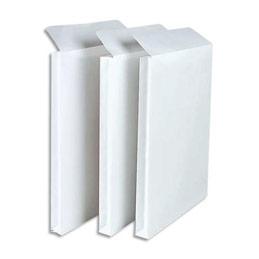 Pochettes à soufflets vélin blanc GPV - 260 x 330 mm - 3 soufflets 3 cm - 120 g - boite de 250