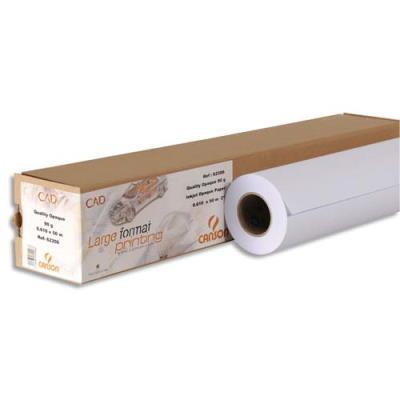 Bobine de papier blanc pour traceur Clairefontaine - non couché - 80 g - 0,914 x 91 m (photo)