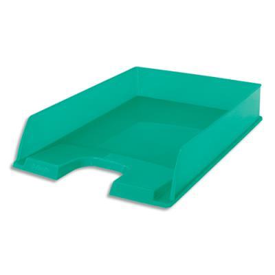 Corbeille à courrier Esselte Colour'Ice - L25,4 x H6,1 x P35cm - vert