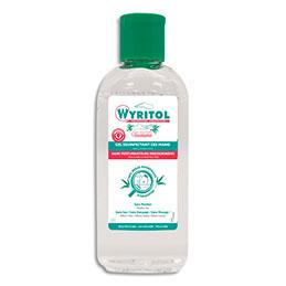 Gel hydro-alcoolique mains Wyritol - 100 ml - sans eucalyptus - flacon (photo)