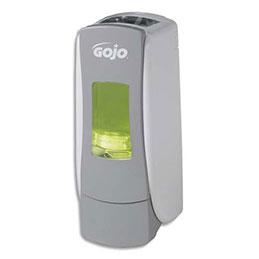 Distributeur de gel hydroalcoolique ADX7 Gojo - 700 ml - L9,53 x H24,76 x P8,89 cm - gris blanc (photo)