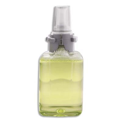 Mousse lavante Gojo - 700 ml - pour distributeur ADX7 - cheveux, corps et main - parfum concombre - lot de 4 recharges (photo)