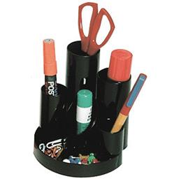 Multi pots - 7 compartiments - noir. (photo)