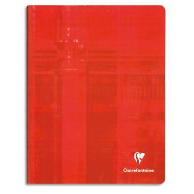 Cahier Clairefontaine Metric - reliure brochée - 24 x 32 cm -192 pages - petits carreaux - papier 90g