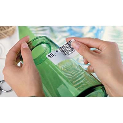 Boîte de 1200 étiquettes enlevables Avery - Format 45.7x21.2 mm - Impression laser - L4736 (photo)