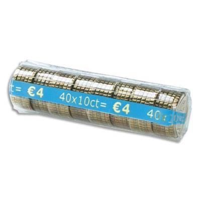 Etuis à monnaie Reskal The Container - pour pièces 0,10  E - contient 40 pièces - boîte de 100 étuis (photo)